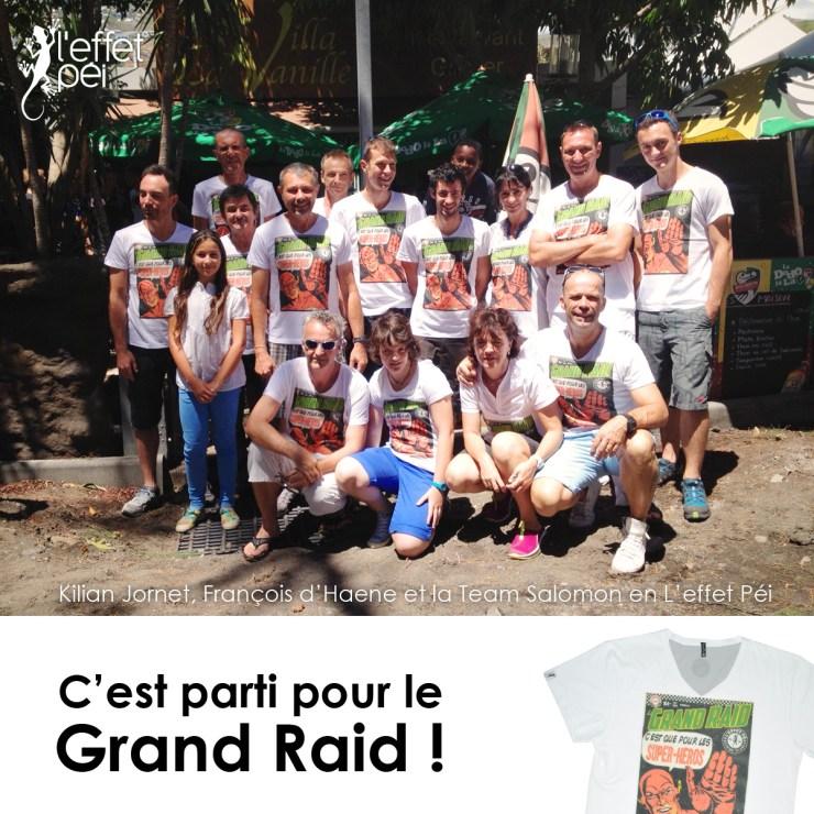 C'est parti pour le Grand Raid 2013 ! Kilian Jornet et la Team Salomon en L'effet Péi à la Villa Vanille