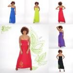 Robe longue Erina - L'effet Péi Femme