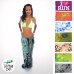 Bikini et Paréo L'effet Péi - Réunion Island Margouillat