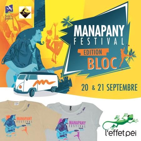 T-shirt Manapany Festival 2014