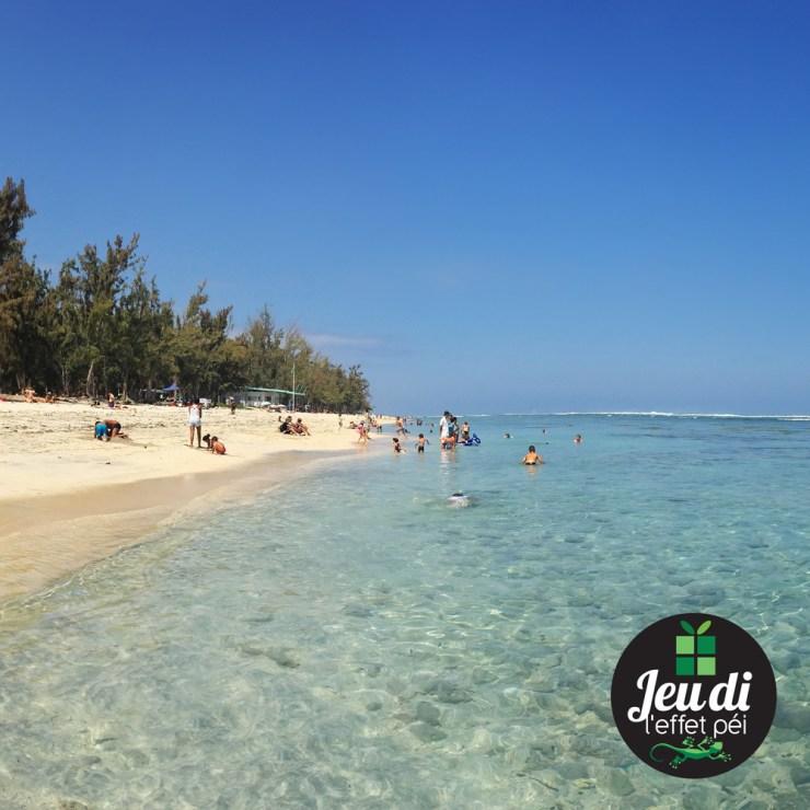Jeudi Péi - Quelles sont les températures de l'eau et de l'air ce matin sur cette plage ?