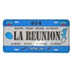 Plaque City La Réunion