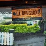Fortes pluies à la Réunion - Cilaos - Case Créole - Plaque La Réunion 974
