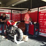 Box - Team Scudéria WANTS Ducati Luxembourg