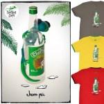 Rhum Péi - Tee-shirt Bouteille Charette - Margouillat L'effet Péi