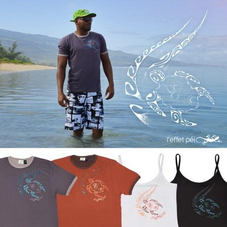 T-shirt Tortue Tattoo - La Saline Les Bains - île de la Réunion