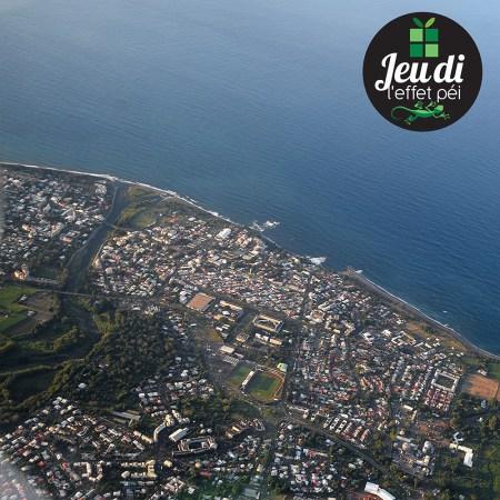 [Jeudi Péi N°38] Au dessus de quelle ville de La Réunion cette photo a-t-elle été prise ?