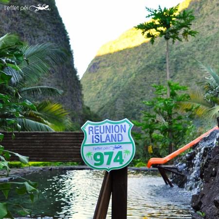 Plak Réunion Island