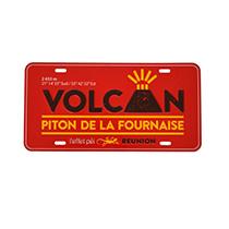 Plak Volcan Fournaise