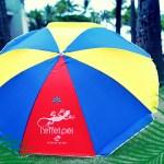 Parasols L'effet Péi - île de la Réunion - Flag - Drapeau de la Réunion