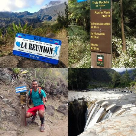 Eddy nous emmène à la Cascade 3 Roches dans le cirque de Mafate - île de la Réunion