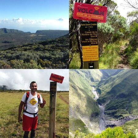 Notre ambassadeur sur les sentiers Eddy Palma nous emmène au Cassé de la rivière de l'est (depuis le gîte du volcan)