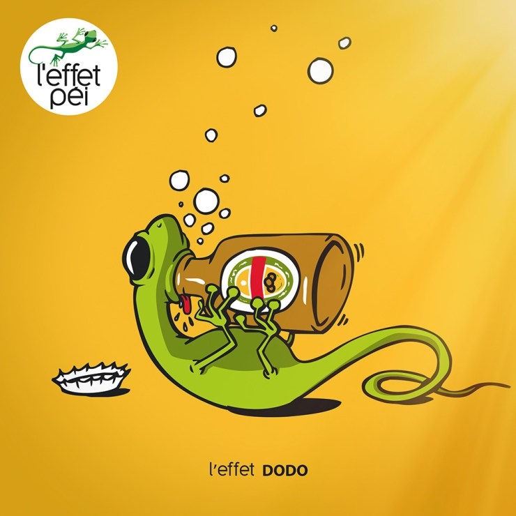 L'effet Dodo - Margouillat buveur de bière - Saint-Patrick