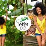 Top femme Ananas - Fruits - île de la Réunion