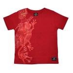 T-shirt Abo Enfant Jack Rouge