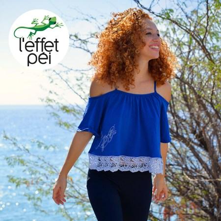 Top femme Daxia Dentelles - Cap La Houssaye - île de la Réunion