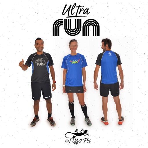 Ultra Run by L'effet Péi - T-shirt Technik