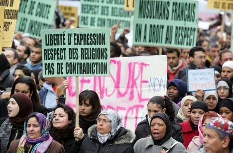 Manifestations contre les caricatures (France)