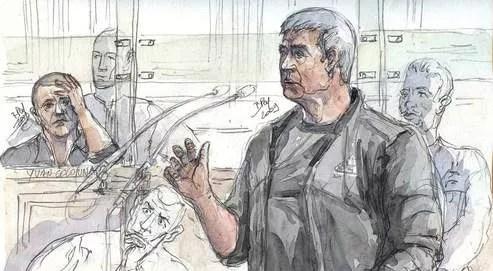 «Yvan n'a jamais fait partie de notre groupe», a affirmé lundi Pierre Alessandri devant la cour d'assises de Paris.