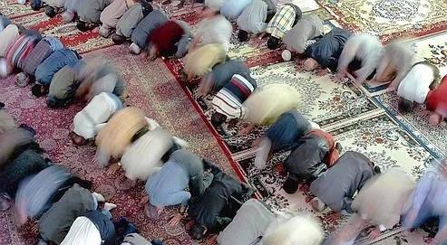Prière dans une mosquée de Sao Paulo, en 2001.