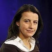 Cécile Duflot, tête de liste Verts en Ile-de-France.