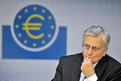 Jean-Claude Trichet, président de la BCE, jeudi à Francfort.