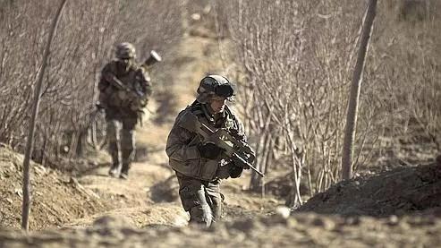 Des soldats français en patrouille dans la province de Kapisa en janvier.
