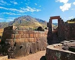 La cité de Pisac, au sud de la vallée des Incas.