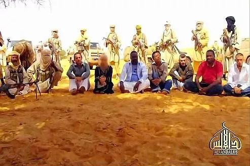 Niger, Arlit. 16 septembre 2010, 7 personnes enlevés dont 5 Français.