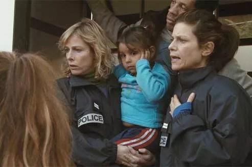 Karin Viard, Joey Starr et Marina Foïs incarnent avec authenticité les membres d'un groupe d'enquête de la Brigade de protection des mineurs. (Les Productions du Trésor/Mars Distribution)