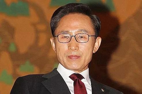 Lee Myung Bak, président de la Corée du Sud.