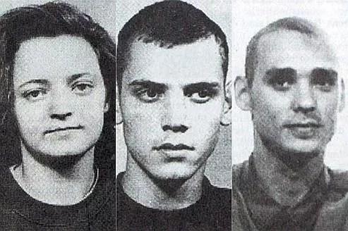 Beate Zschäpe, Uwe Böhnhardt et Uwe Mundlos. La première s'est rendue à la police après avoir incendié son domicile, les seconds se sont suicidés. (Crédits photo: REUTERS)
