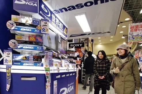 Sony et Panasonic ont annoncé que leur année 2012 se soldera par des pertes records.