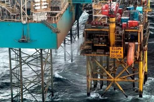 La fuite de gaz se poursuit en Mer du Nord.