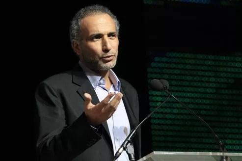 Tariq Ramadan samedi soir au Bourget pour le 29e congrès de l'UOIF.