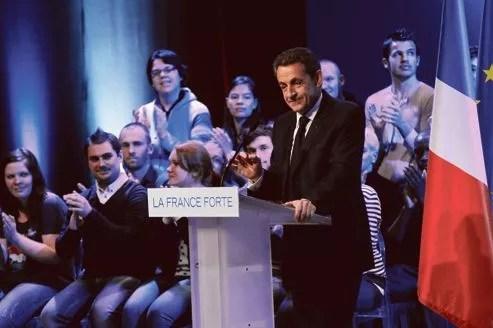 Mardi, à Longjumeau, Nicolas Sarkozy a redit qu'il fallait «comprendre le vote FN».