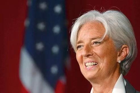 La directrice générale du FMI Christine Lagarde crée encore la polémique.