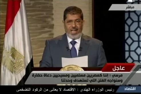 Mohammed Morsi a remporté les élections présidentielles en juin 2012