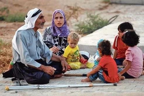 Plus de 70.000 Syriens ont trouvé refuge en Turquie (ici une famille à Reyhanli) depuis le début de l'insurrection.