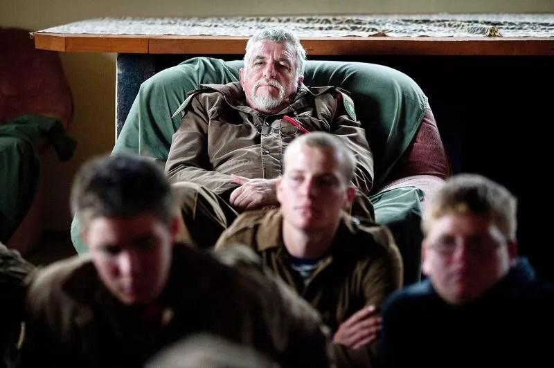 Le colonel Jooste dément «influencer» les jeunes. Il prétend seulement «canaliser un sentiment qu'ils possèdent déjà».
