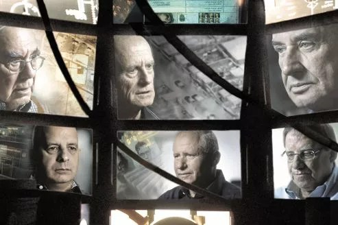 Dans <i>The Gatekeepers</i>, les témoignages de six anciens chefs du Shin Beth sont entrecoupés d'images d'archives et de reconstitutions. Crédit photo: Sony Pictures