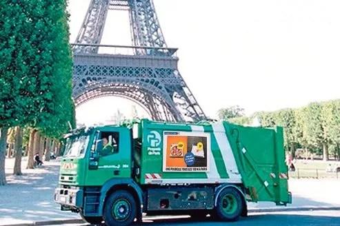 En onze ans, la production de déchets ménagers à Paris a diminué de 11,6%.