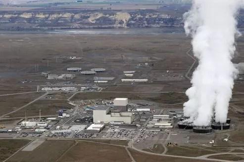 Le site nucléaire d'Hanford en 2011.