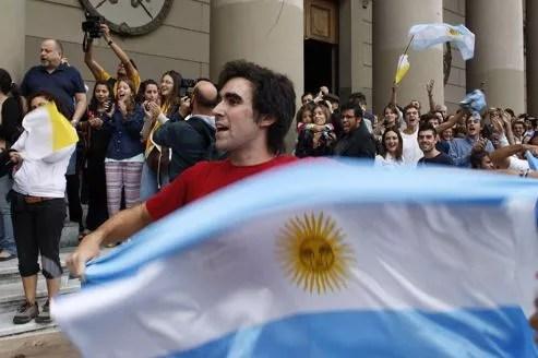 Les Argentins eux-mêmes n'osaient croire à l'élection du cardinal Bergoglio.