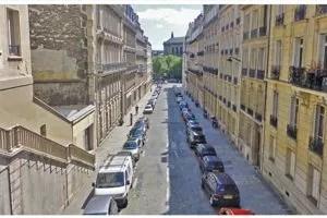 La rue Portalis actuellement.