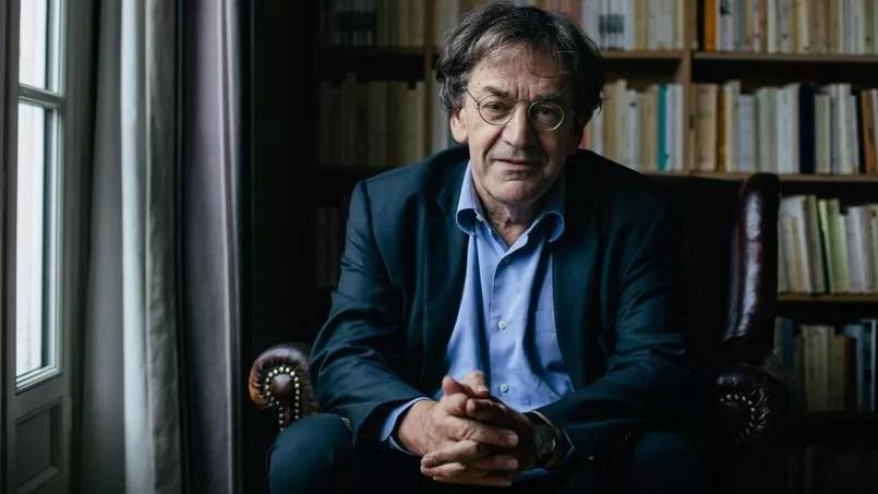 Alain Finkielkraut, à Paris, jeudi.