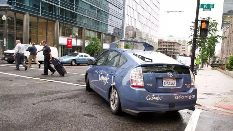 La Google Car, le 14 mai 2012, à Washington.