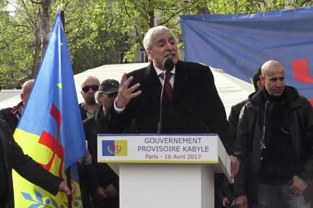 فرنسا ترفض تسليم فرحات مهني رئيس حكومة منطقة القبائل للجزائر