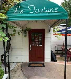 Le Fontane Restaurant Entrance