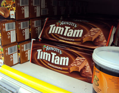 Arnott's Tim Tams in France